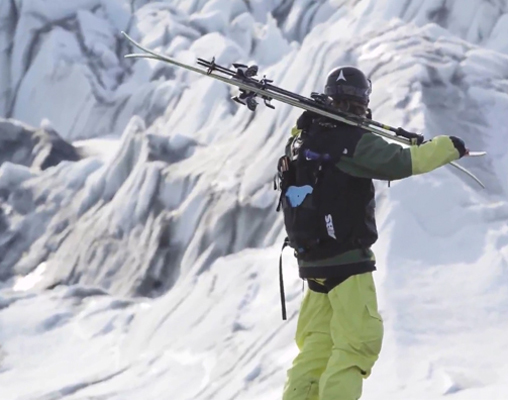 1b1bbbe12 Stay on top with The North Face Powder Guide ABS Vest | FREESKIER