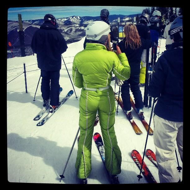 jonnyklemchuk Where's your #asspen? #ski #skiing #cougar #freeskierfest