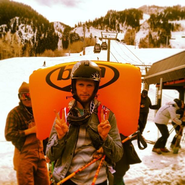 packywestfeldt Staying safe at #freeskierfest