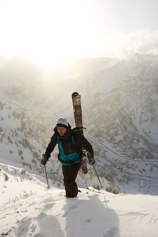 Jason Prigge, Alta Backcountry, Utah photo:Adam Clark