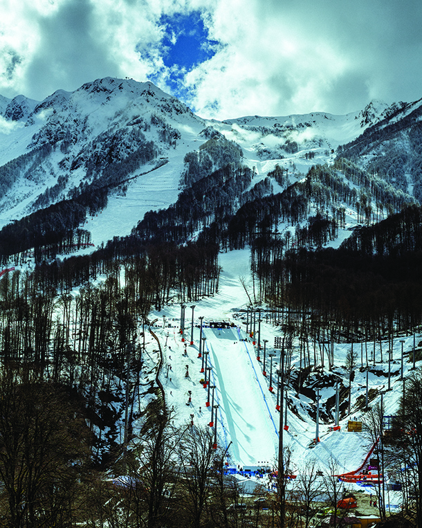 Landscape and lifestyle images from around Sochi, Russsia during