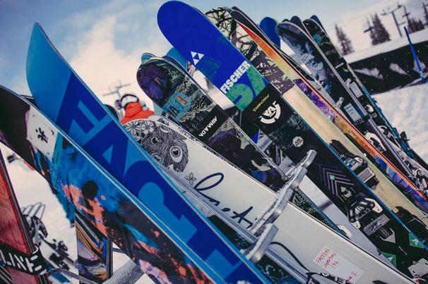 Freeskier-Ski-Test