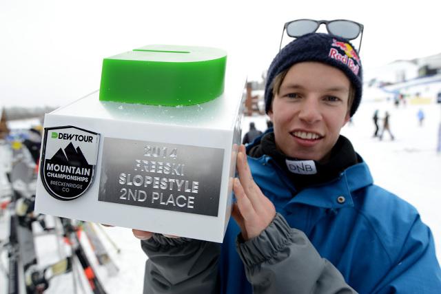 Pro skier Oystein Braten