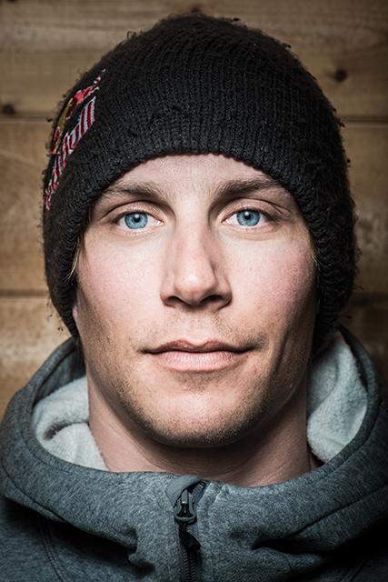 Pro skier Richard Permin