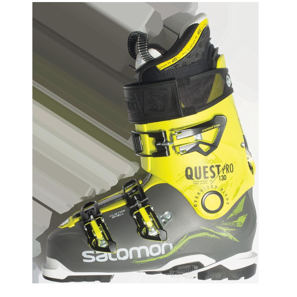camisa Pef construcción  Salomon Quest Pro 130 Ski Boots - 2016 | FREESKIER