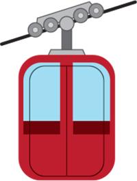 Gondola-Freeskier