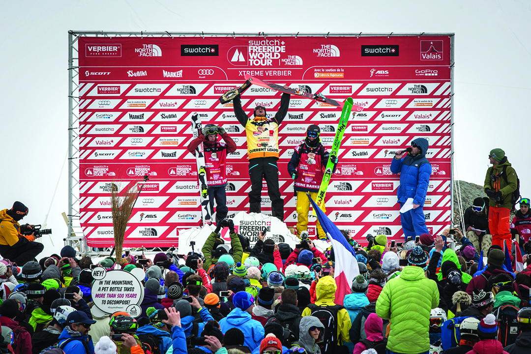 George Rodney, Skier of the Year, Freeride World Tour