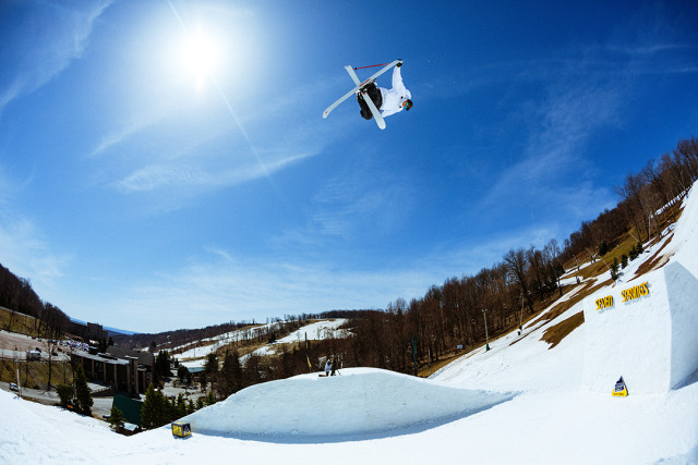 Tim McChesney at Seven Springs, PA while filming with Good Company.