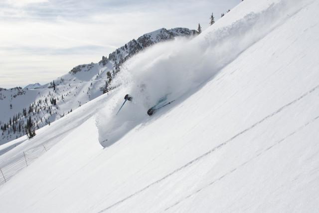 Marcus Caston at Snowbird