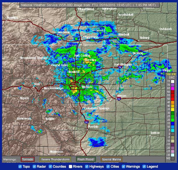 Colorado Weather Radar