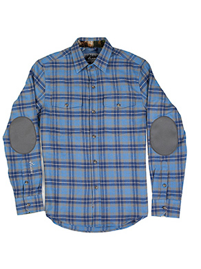 Pladra Leon - Smokey Blue Flannel