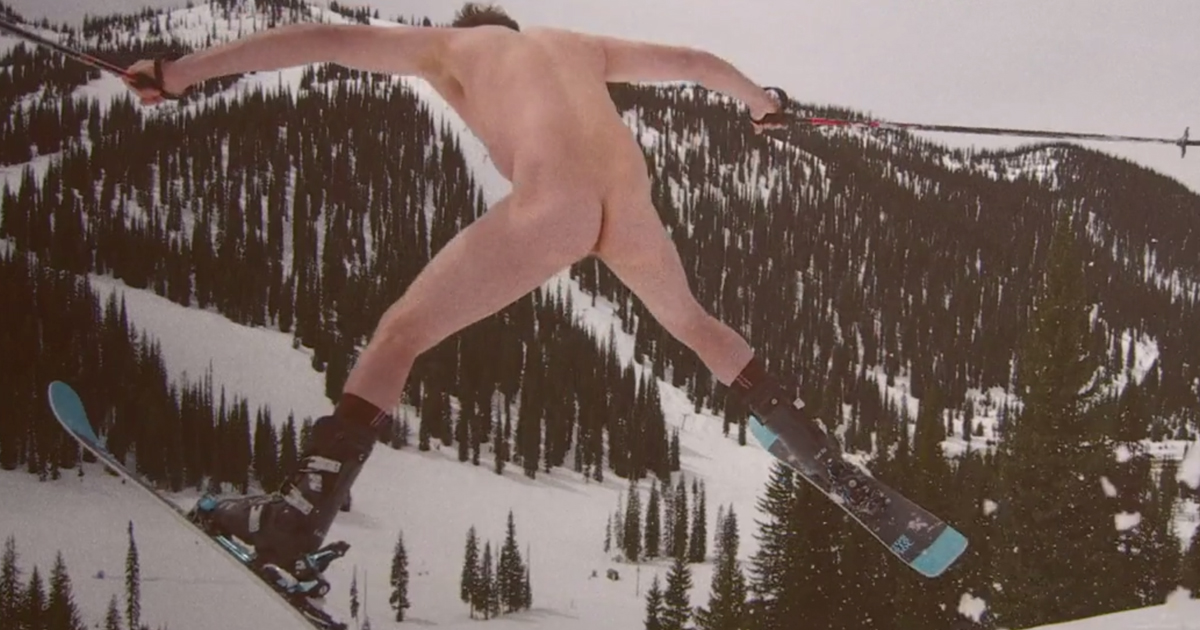 Nude Skiing