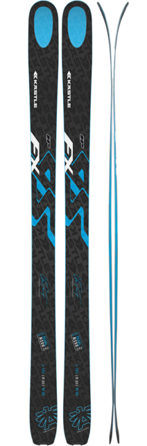 2017-Kastle-FX-95-skis-review