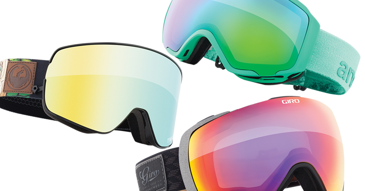 a907714219 The top 16 ski goggles of 2017