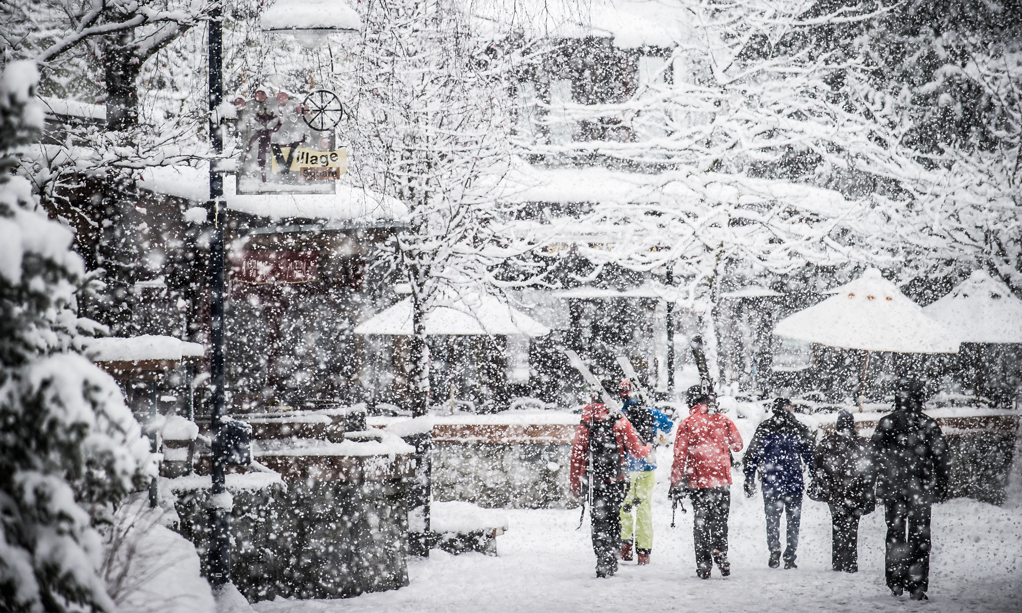 Just another day in Whistler. Photo by Blake Jorgensen.