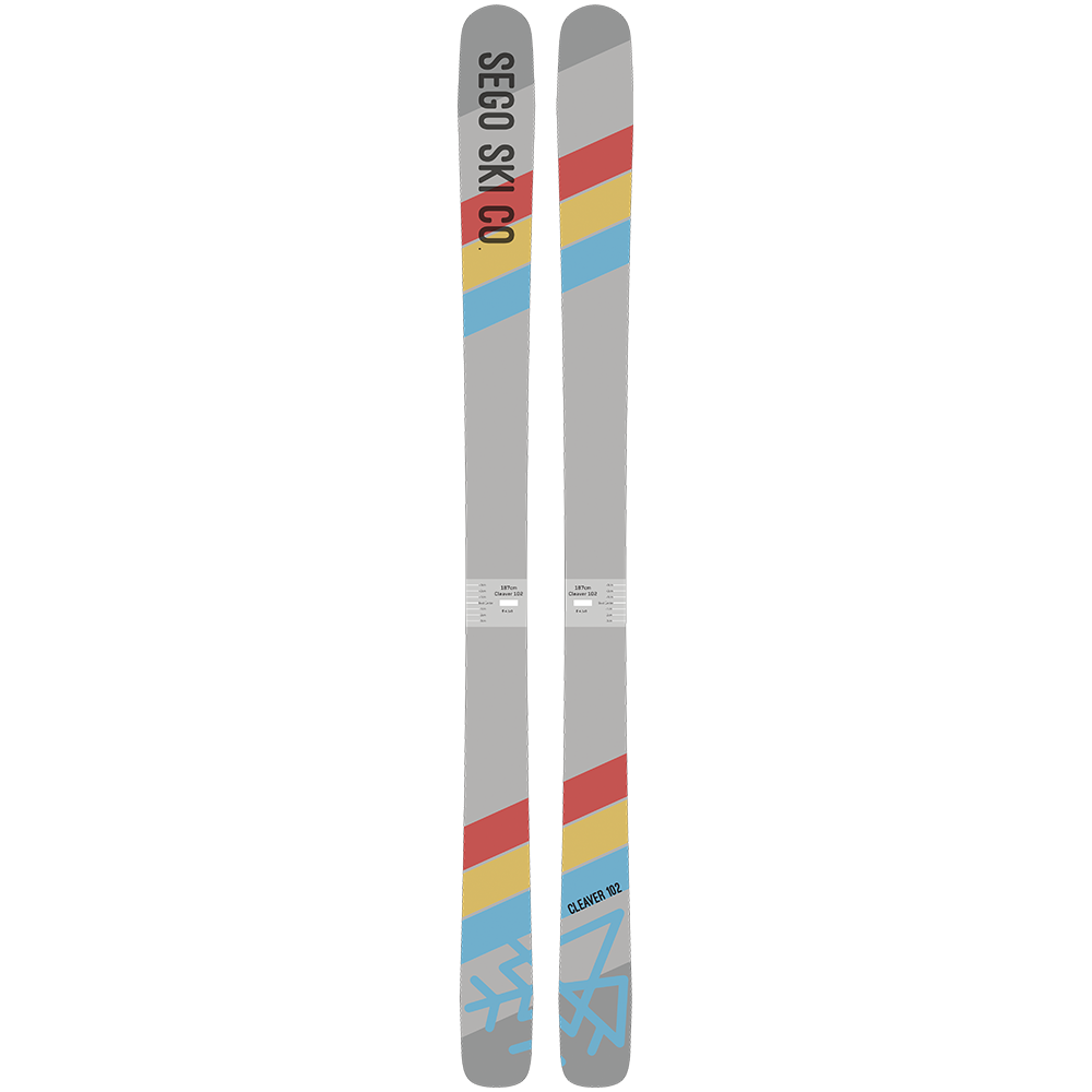 Sego Cleaver 102 Skis 2017-2018  3835f5bc1