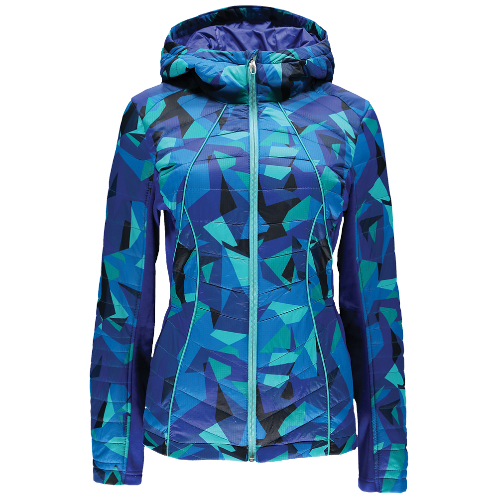 46a5f3265b395 Spyder Women's Glissade Hoodie Full Zip Insulator Jacket 2017-2018 ...