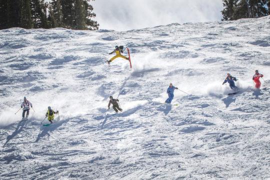 Flying high at Snowbird  Perfect snow be2437fa1
