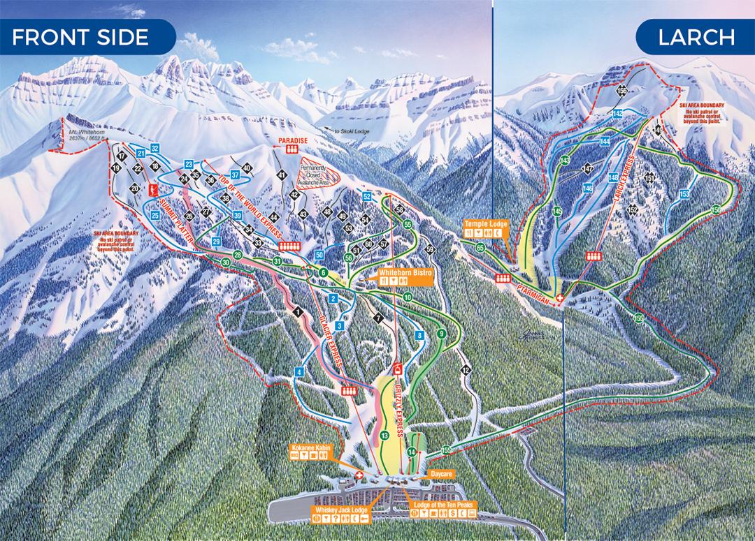 Ski Big 3 Trail Maps | FREESKIER