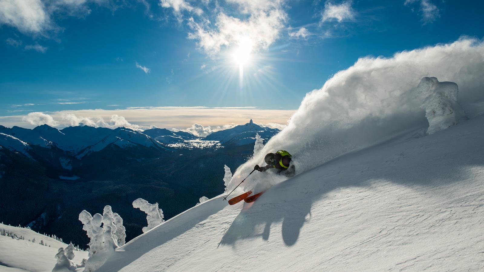 Mountains Ski