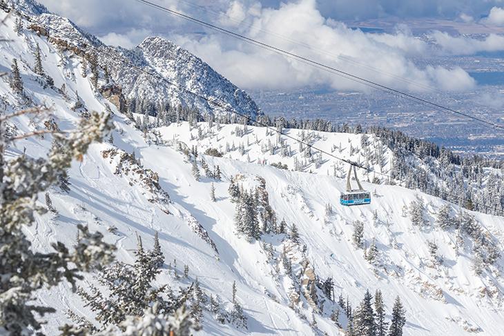The Snowbird Tram. Photo: Matt Crawley