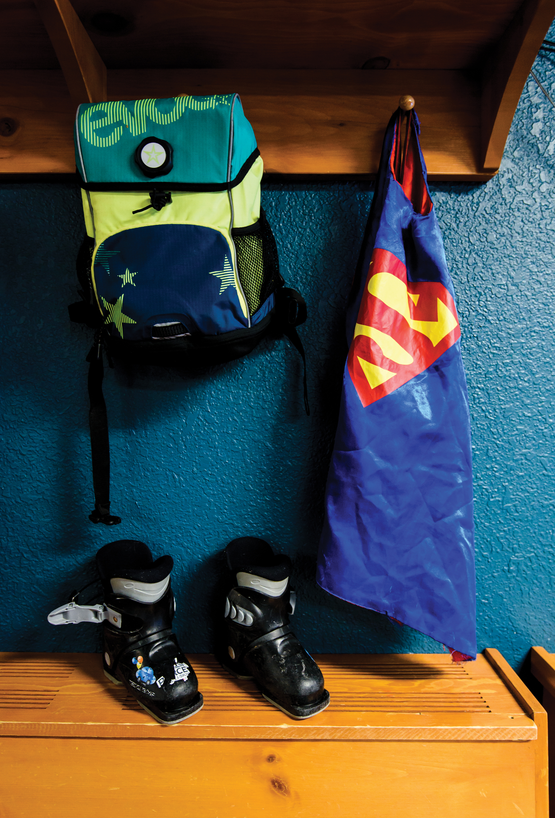 A Student's Cubby at Sun Peaks. PHoto by Bruno Long.