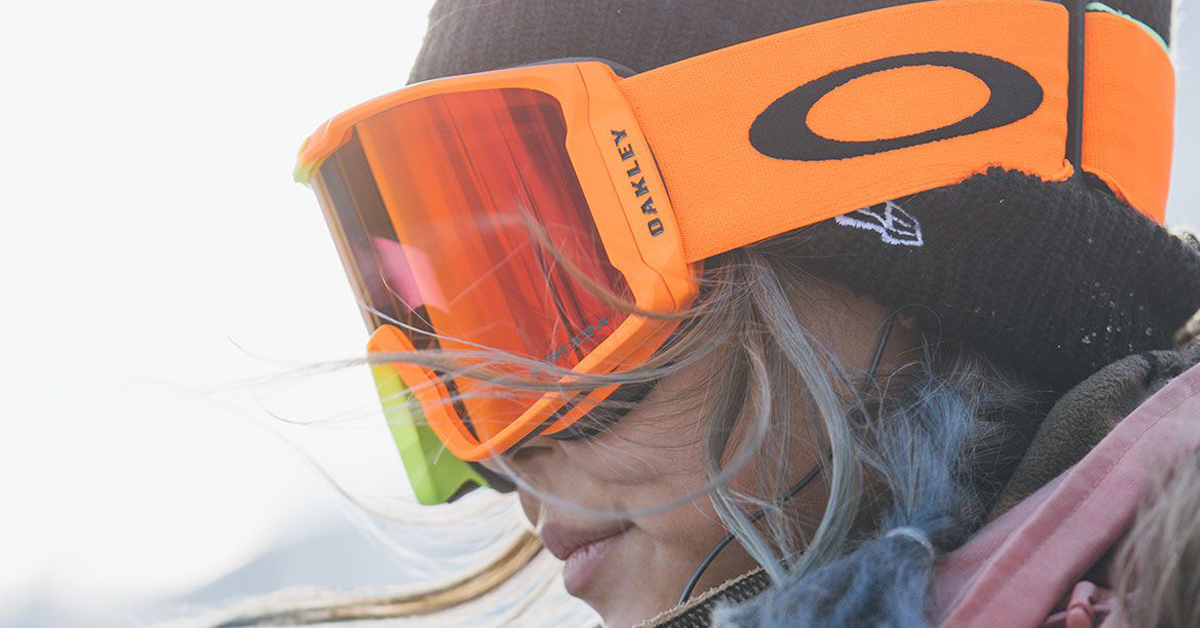 1e007462c7 Those orange   yellow Oakley goggles from the Olympics... so hot right now