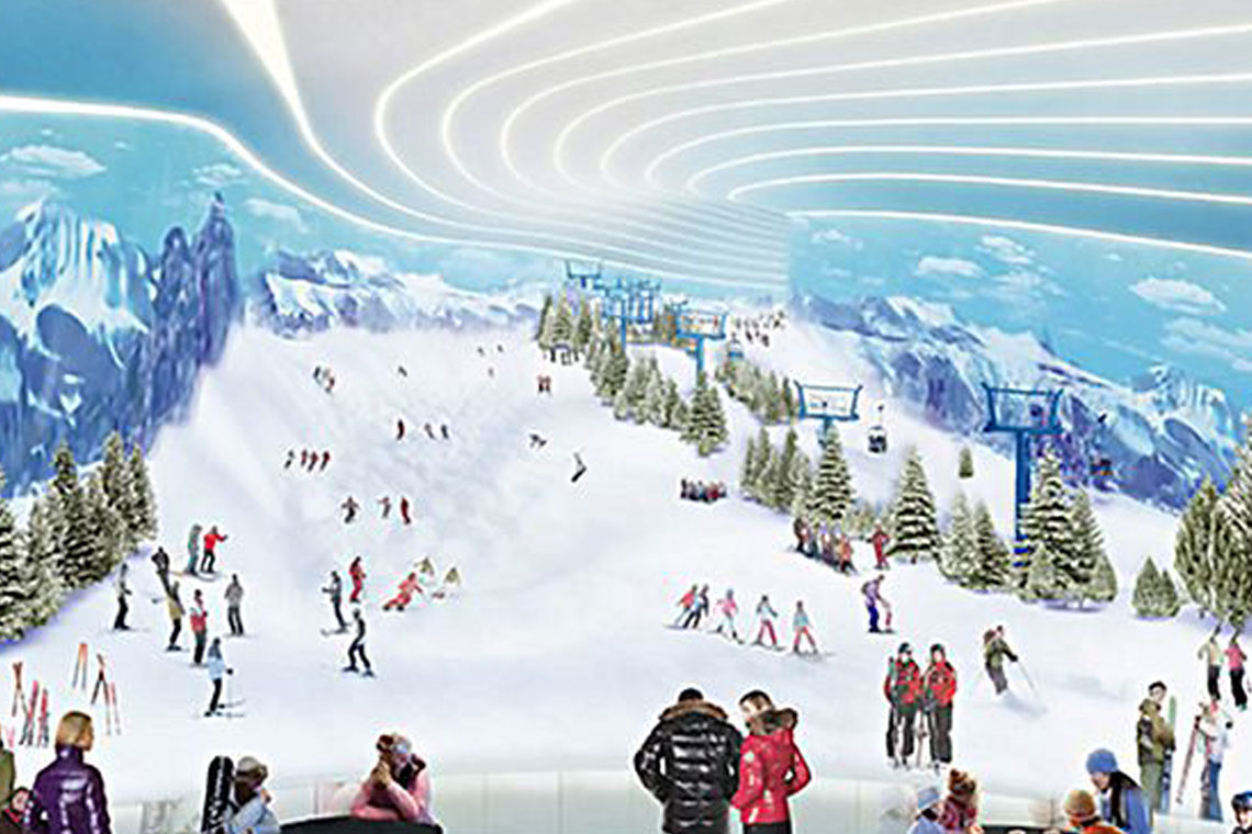 new jersey will be home to first indoor ski slope in the western