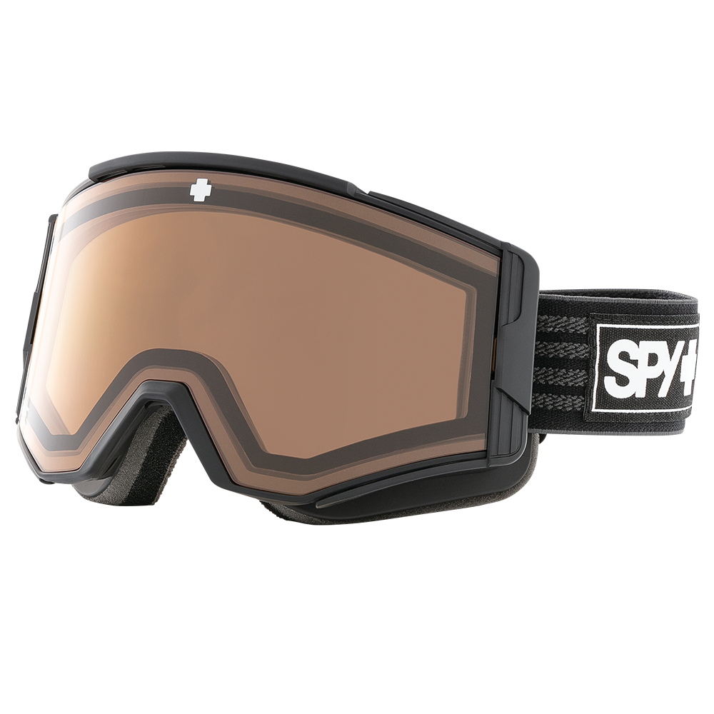 b72d70c938344 Spy implemented a nifty electrochromic lens into its award-winning Ace  goggle for 2018-19. The California-based company utilizes a Spy-logo-shaped  button on ...