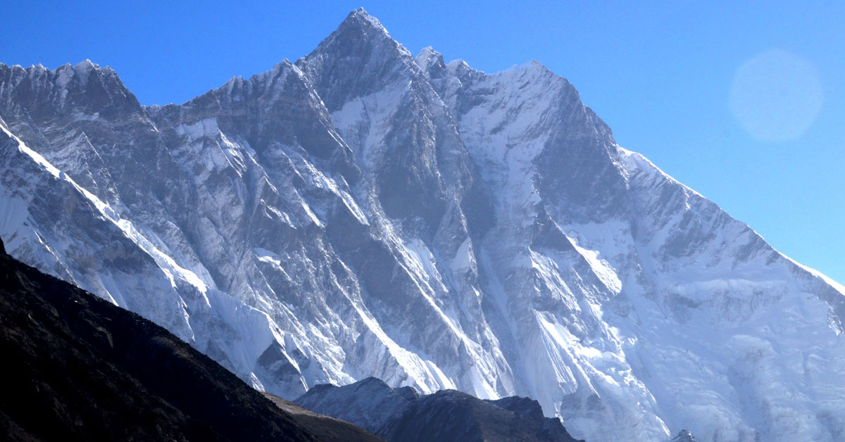 Hilaree Nelson and Jim Morrison make historic first ski descent of Lhotse Couloir