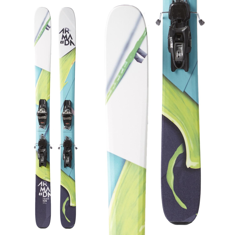 Armada Trace 108 Skis + Marker Griffon Demo Bindings Women s 2018 ... 31824e630