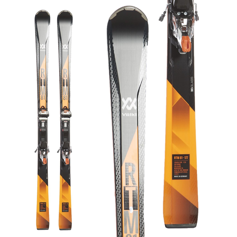 Volkl RTM 81 Skis + IPT Wide Ride 12.0 Bindings 2018