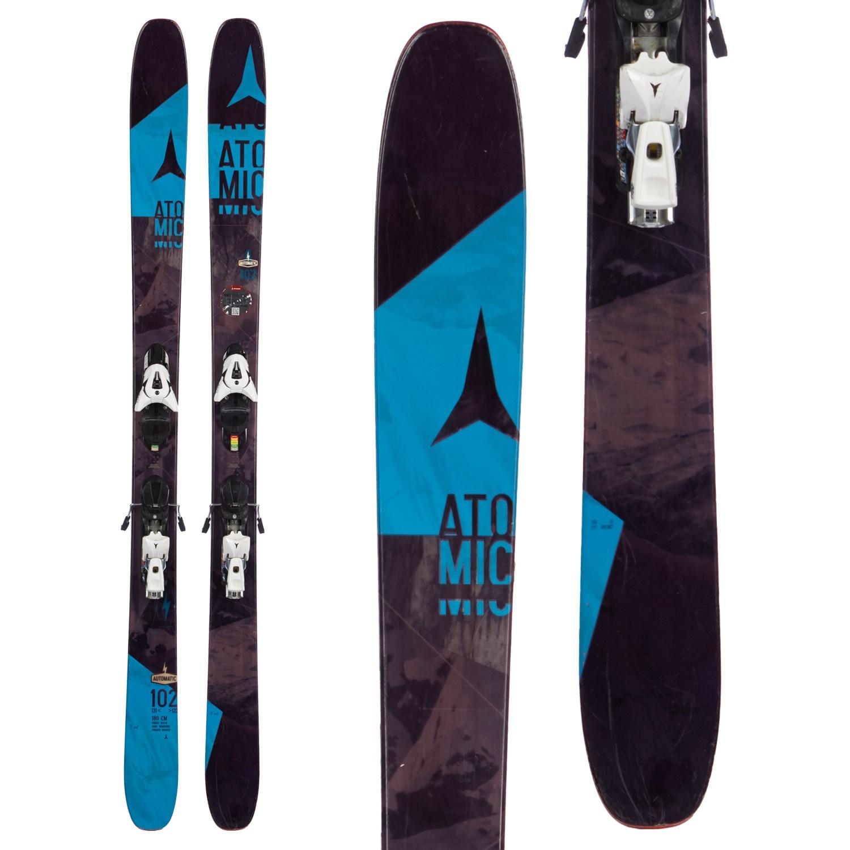 Atomic Automatic 102 Skis + FFG 12 Bindings 2016