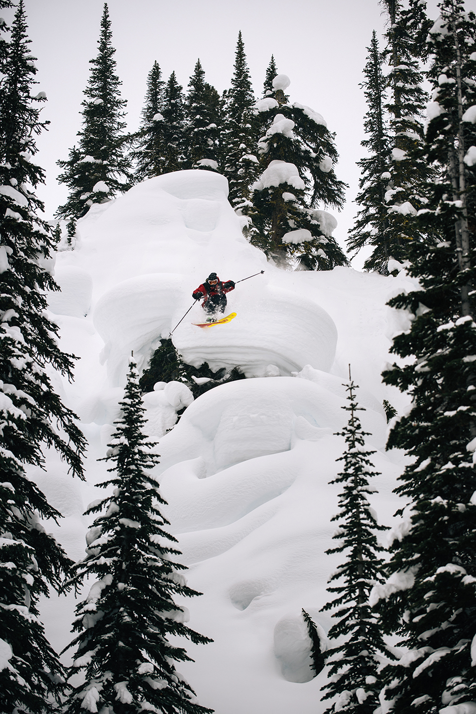 Duncan Adams is one of the best freeskiers on the planet, hands down. Photo: Max Lowe