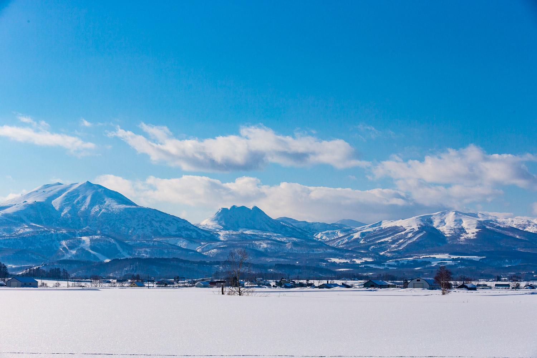 The Niseko landscape.