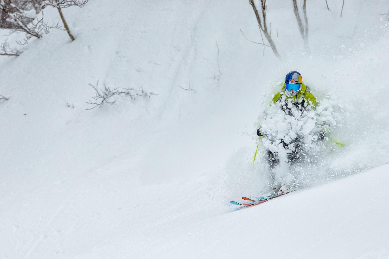 Skiing with Shimamaki Snowcats is no fun, just ask Paddy Graham.