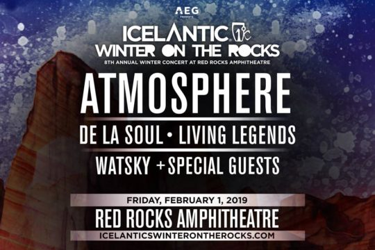 Winter On The Rocks Top Five Things To Bring To Red Rocks Only