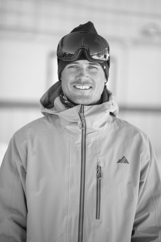Sam Coffey at FREESKIER's 2018 Ski Test at Snowmass, Colorado. Photo: Matt Power