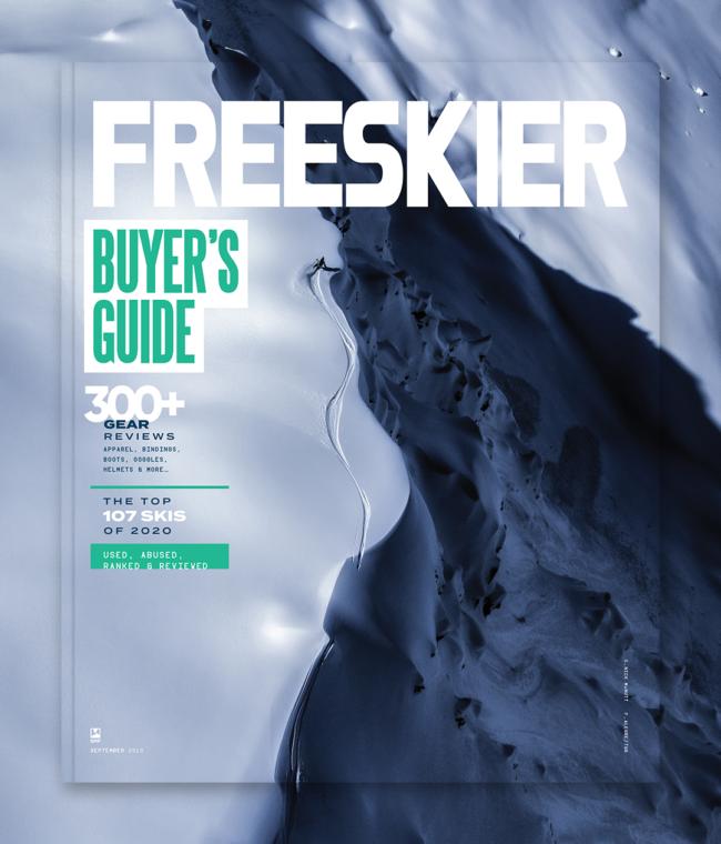Subscribe to FREESKIER magazine   FREESKIER