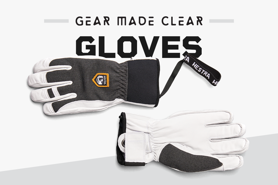 Gear Made Clear Gloves