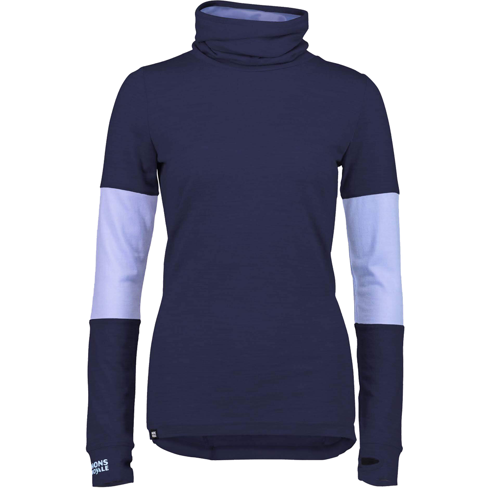 Mons Royale Women's Cornice Rollover LS