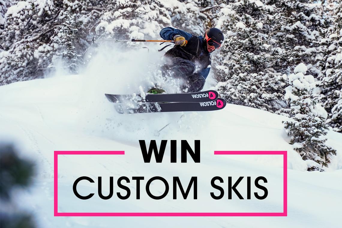 [Giveaway] Win custom skis from Folsom! | FREESKIER